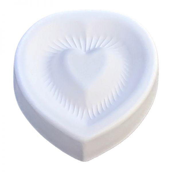 Fluted Heart Mould