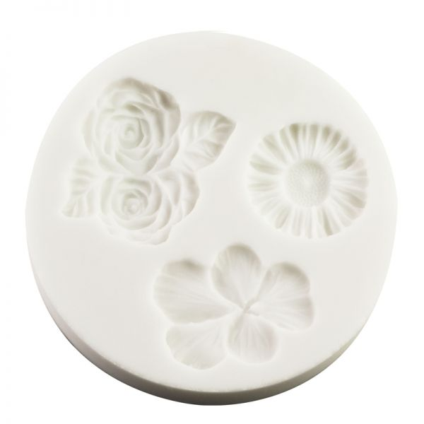 Freeze & Fuse Mould: Flowers