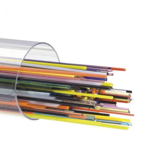 0.5mm Mixed Bullseye Glass Stringers