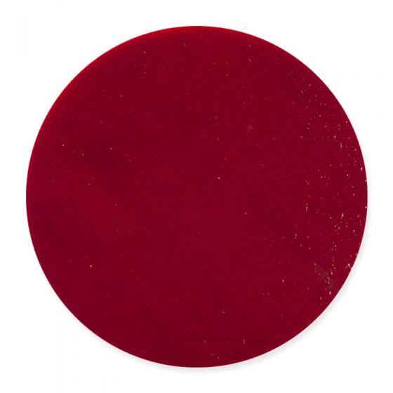20cm Deep Red Opal Pre-Cut Glass Circle (0224)