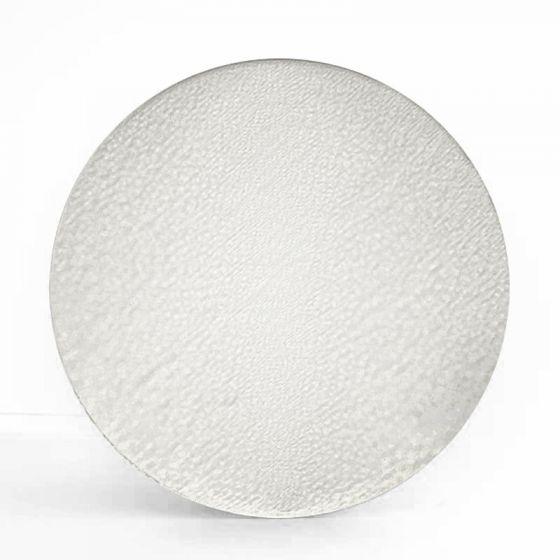 Pre cut glass circle - clear