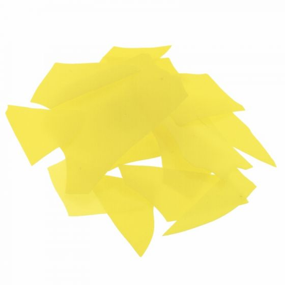 Bullseye Canary Yellow Confetti Opal 50g