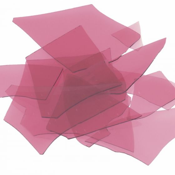 Bullseye Cranberry Pink Confetti Transparent 50g