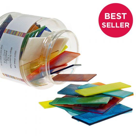 Bullseye Glass: Colour Glass Student Pack