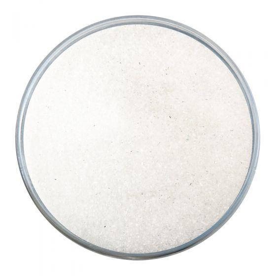 Bullseye Glass Frit: Clear Iridised Fine 1101.RN01