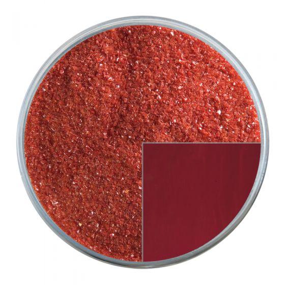 Bullseye Glass Frit: Deep Red Opal Fine 0224.01