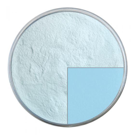 Bullseye Glass Frit: Glacier Blue Opal Powder 0104.08