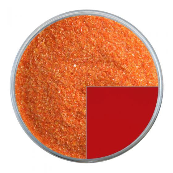 Bullseye Glass Frit: Pimento Red Opal Fine 0225.01