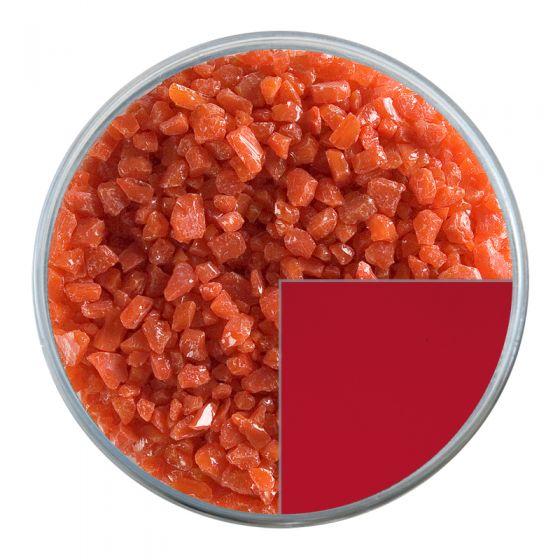 Bullseye Glass Frit: Tomato Red Opal Coarse 0024.03