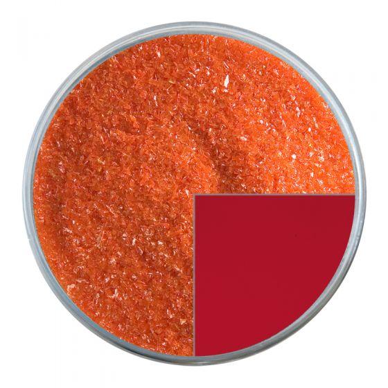 Bullseye Glass Frit: Tomato Red Opal Fine 0024.01