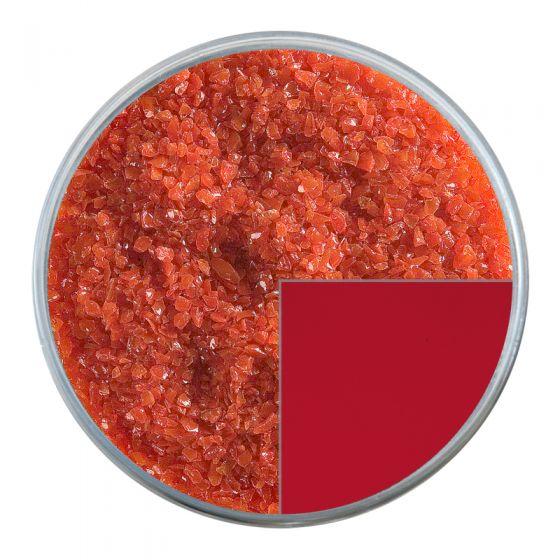 Bullseye Glass Frit: Tomato Red Opal Medium 0024.02