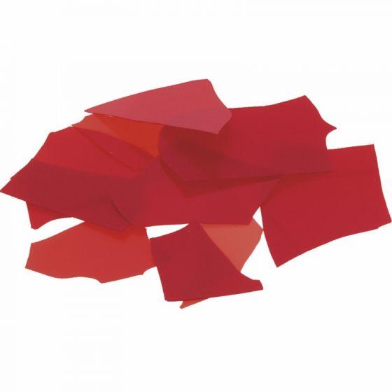 Bullseye Red Opal Confetti 50g