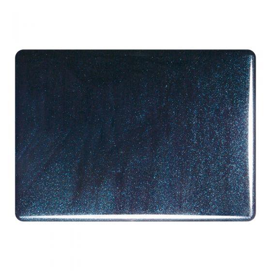 Bullseye Sheet Glass: 2mm Aventurine Blue 1140.50