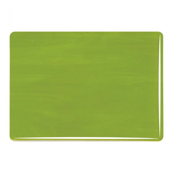 Bullseye Sheet Glass: 2mm Avocado Green Opal 0222.50