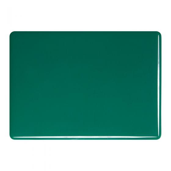 Bullseye Sheet Glass: 2mm Jade Green Opal 0145.50