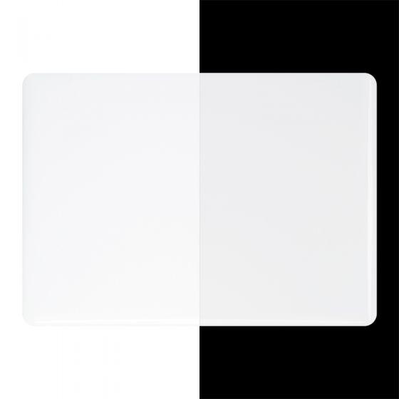 Bullseye Sheet Glass: 2mm Opaque White Opal 0013.50