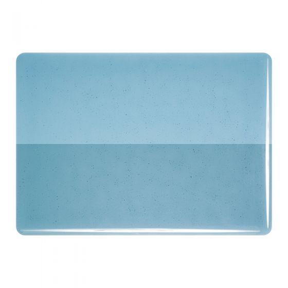 Bullseye Sheet Glass: 2mm Steel Blue Transparent 1406.50