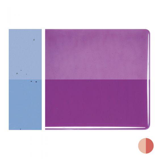 Bullseye Sheet Glass: 2mm Violet Striker 1234.50