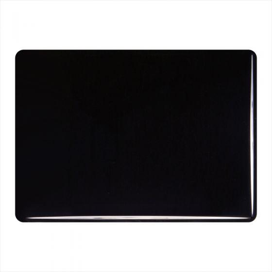 Bullseye Sheet Glass: 3mm Black Opal 0100.30