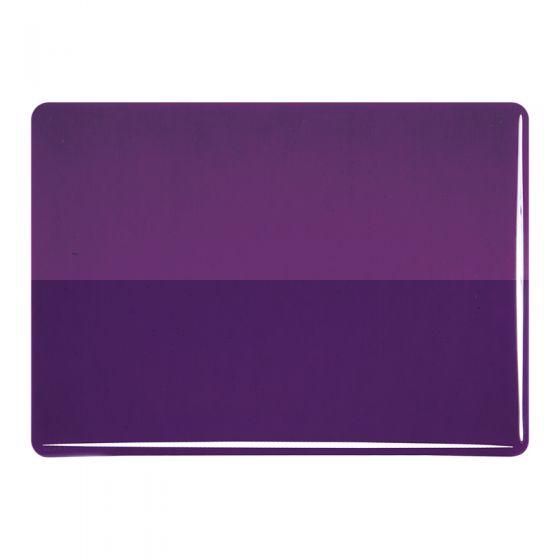 Bullseye Sheet Glass: 3mm Deep Royal Purple 1128.30