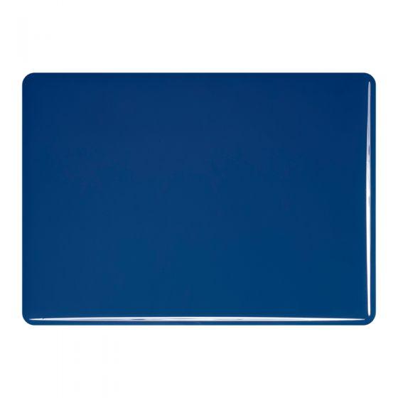 Bullseye Sheet Glass: 3mm Indigo Blue Opal 0148.30