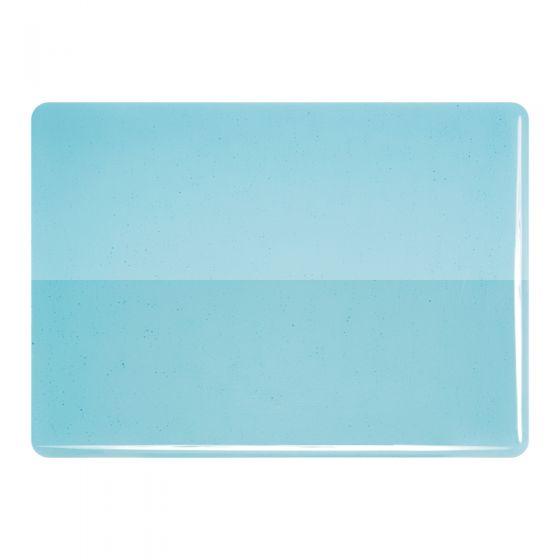 Bullseye Sheet Glass: 3mm Light Turquoise Blue 1416.30
