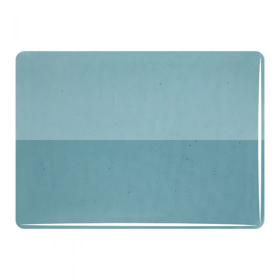 Bullseye Sheet Glass: 3mm Sea Blue 1444.30