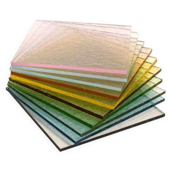 Bullseye Sheet Glass: 3mm Tint Saver Pack