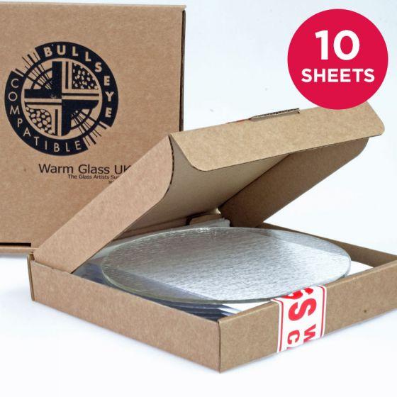 Bullseye Sheet Glass: Mega Circle Packs