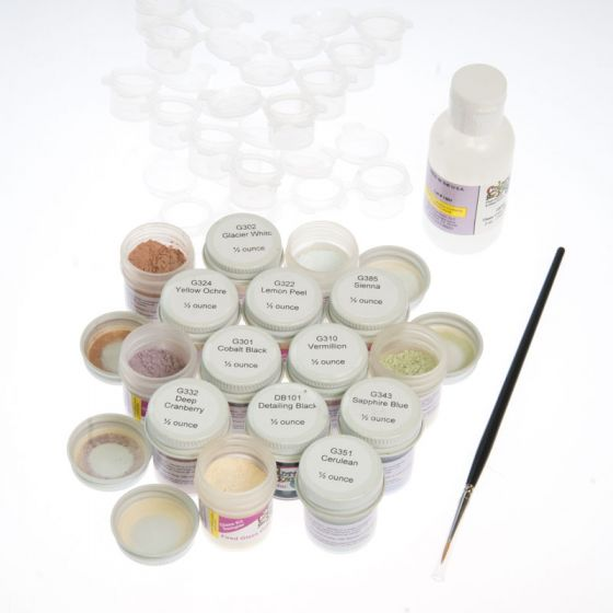 Colors for Earth Glass Paint Sampler Kit