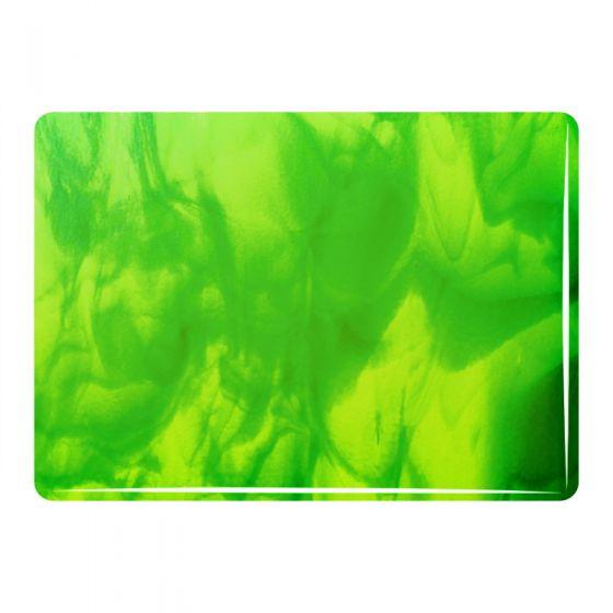 Exclusive Glass: 3mm Spring & Aventurine Green Streaky 30228C