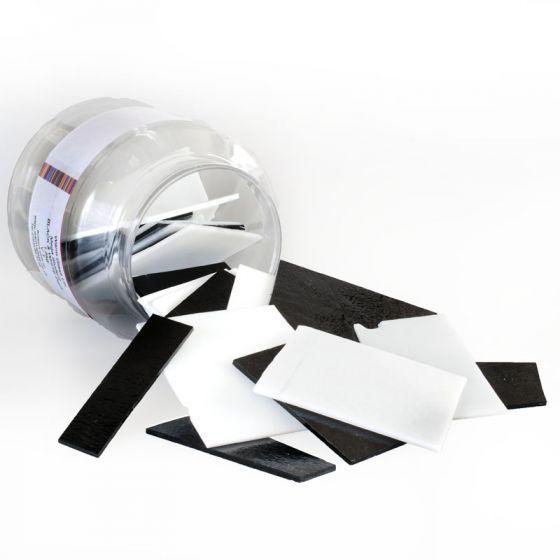 Mega Black and White Glass Student Pack 1.5kg
