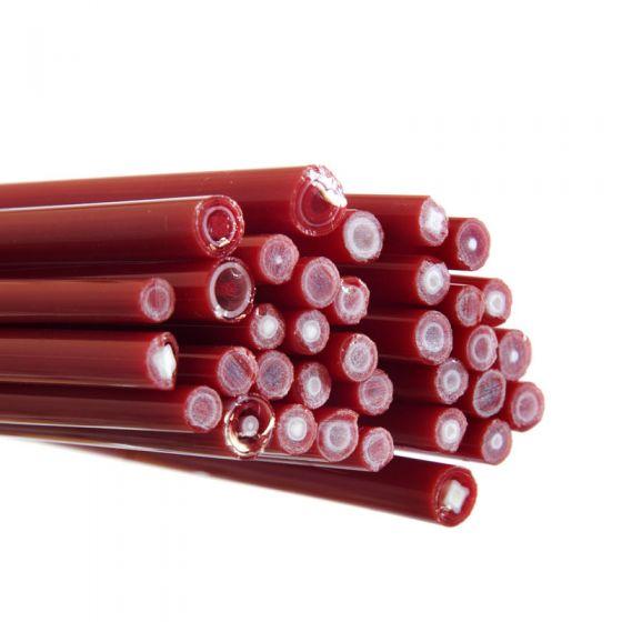 Murrine Cane, CoE90 - Red and White