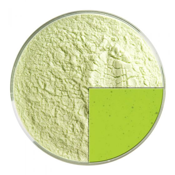 Spring Green Trans Powder Frit 1426.08