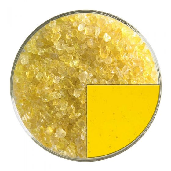 Yellow Striker Trans Coarse Frit 1120.03