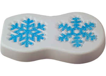 snowflake mould for glass